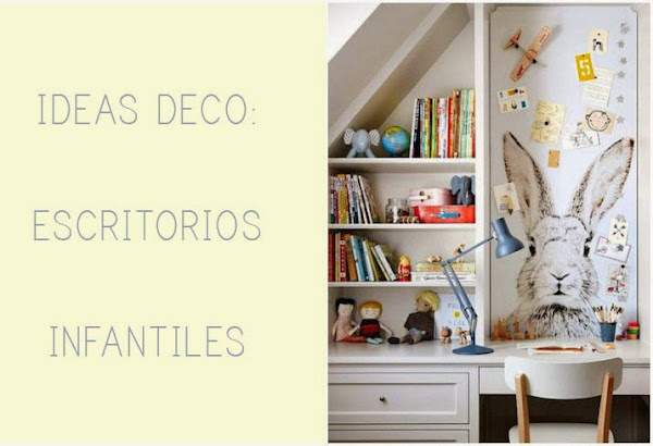 Escritorios infantiles for Ideas para escritorios poco espacio