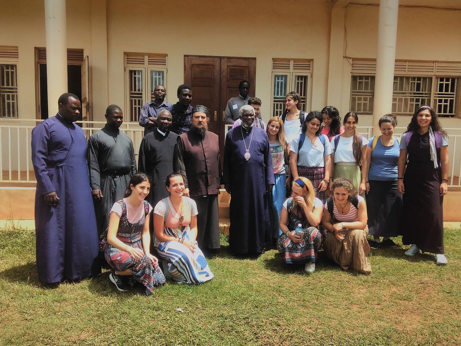 Ξεκίνημα της δεύτερης ομάδας της έβδομης αποστολής στην Ουγκάντα