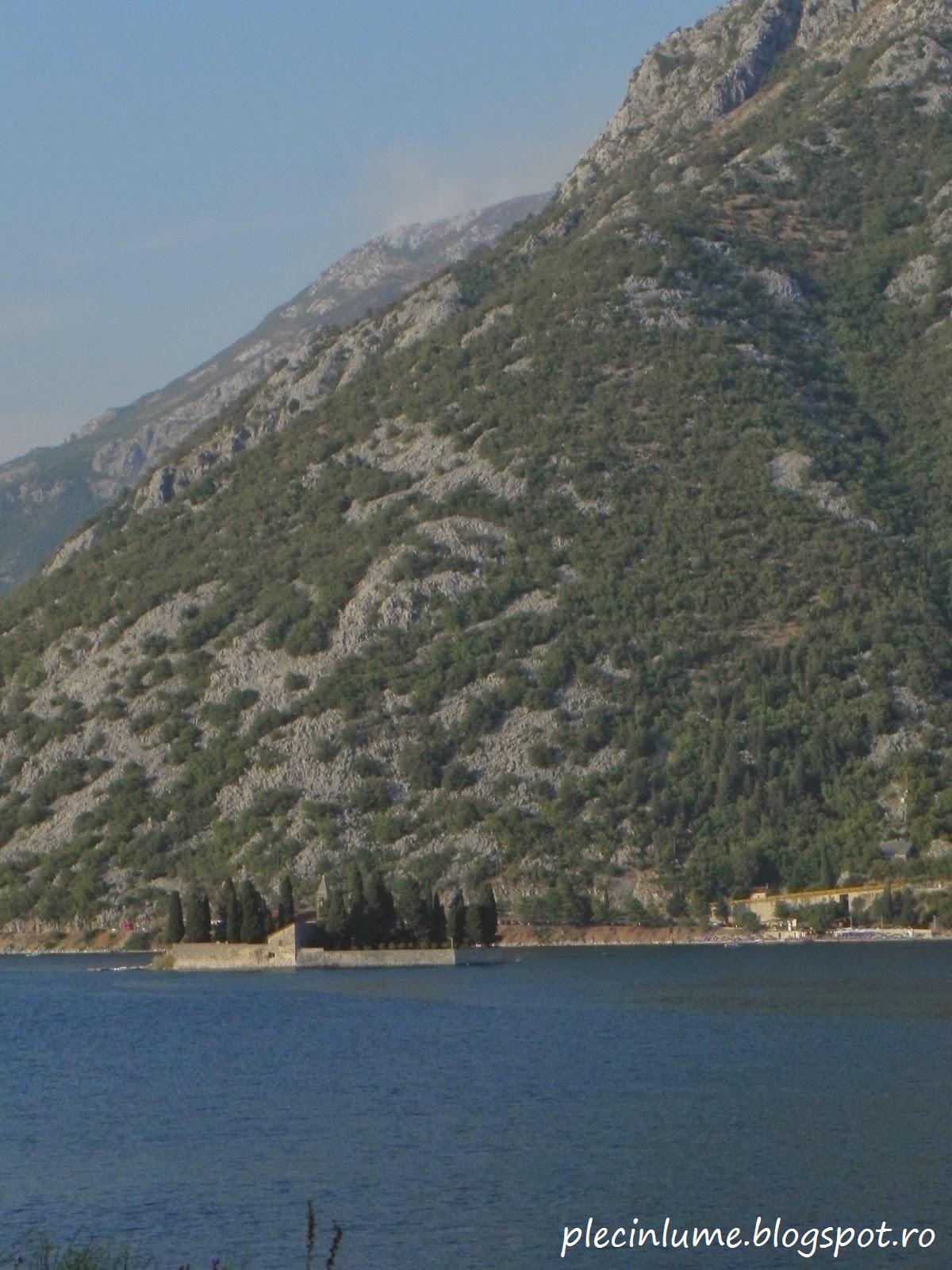 Insula Sveti Dorde, in golful Kotor