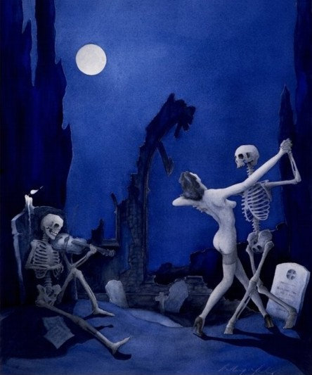 Danse Macabre by Anthony Marlow