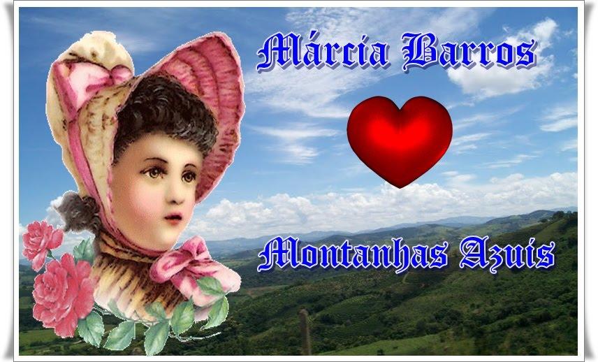 Márcia Barros Montanhas azuis...