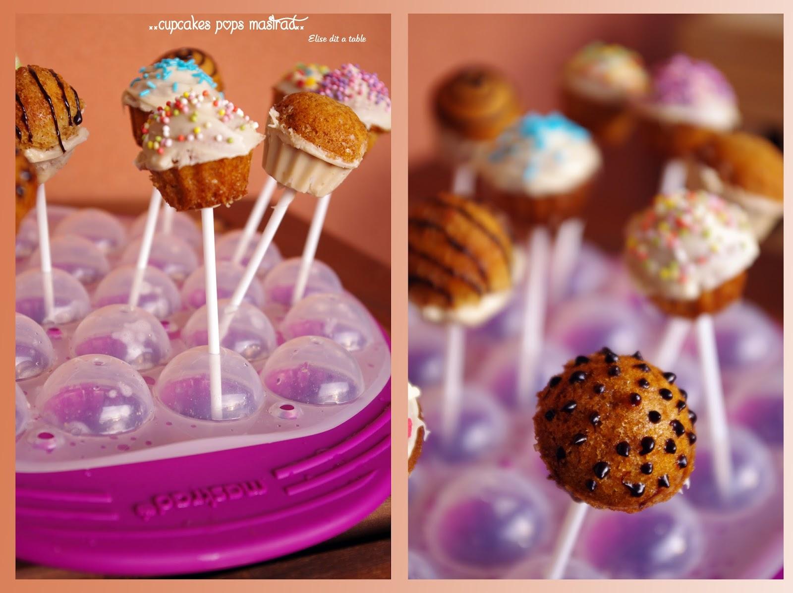 recette Cupcakes pops