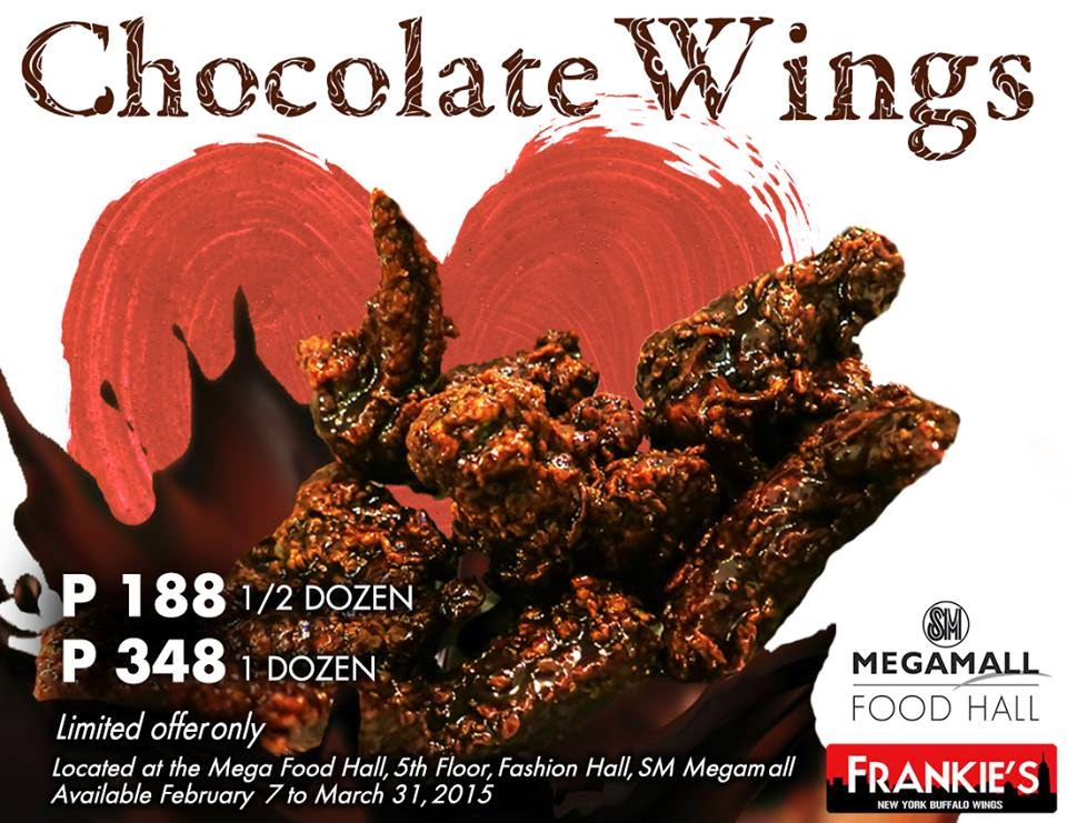 Chocolate Wings by New York Buffalo Wings