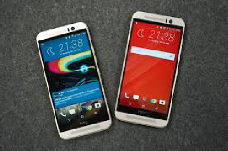HTC One M9 a combination of classic dual tone finish and high speed processor