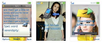 Dara@2NE1 SonyEricsson手機主題for Elm/Hazel/Yari/W20﹝240x320﹞