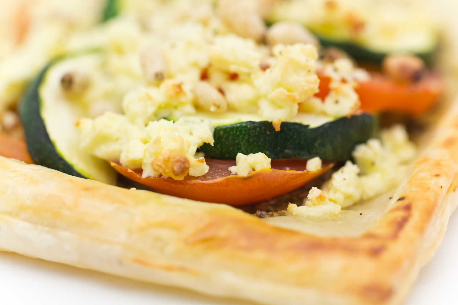 how to make quiche with puff pastry