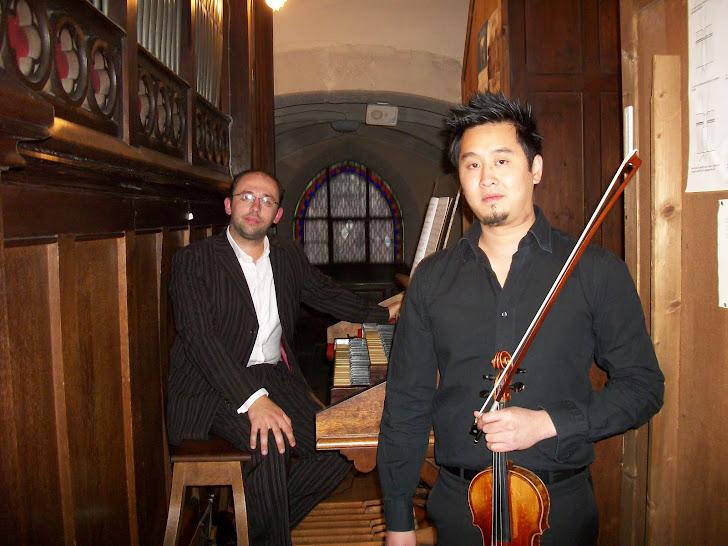 Concert Violon et Orgue par Alex DIEP et Octvian SAUNIER, samedi 15 septembre 2012