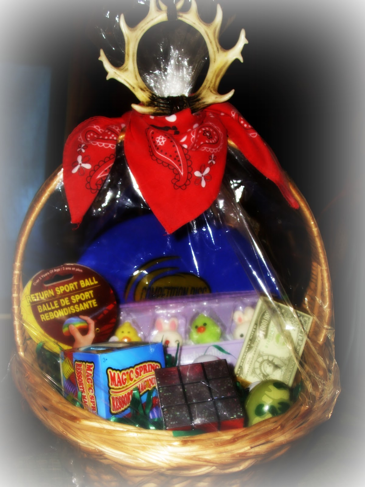 Creative easter baskets for your son country diary of a twenty creative easter baskets for your son negle Choice Image