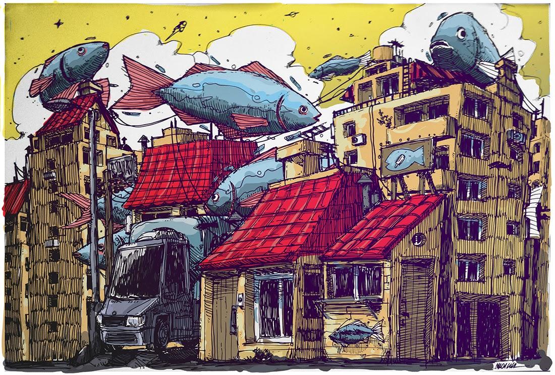 Ciudad de Peces - Marcos Santos- Marcus