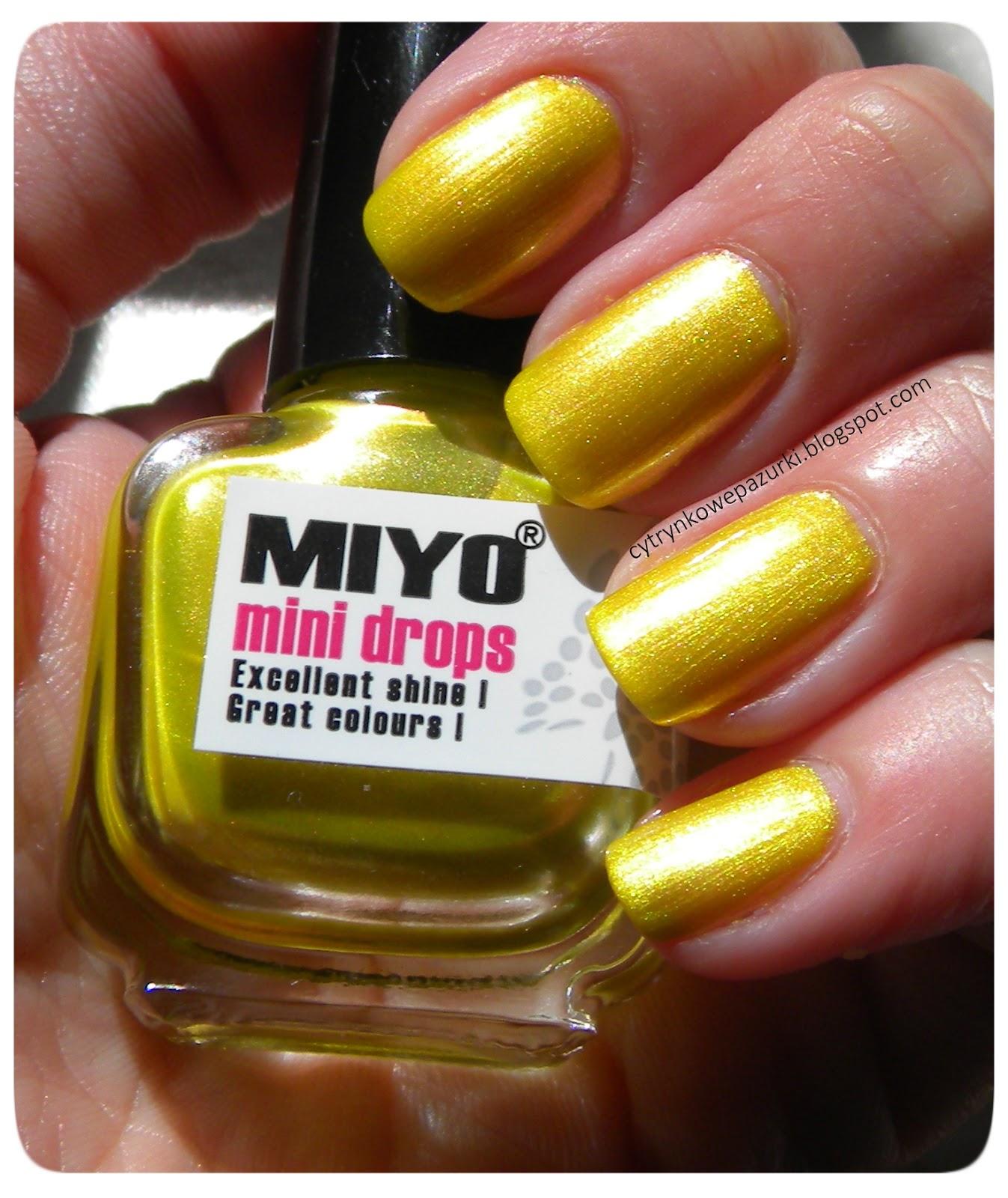 Poniedziałki z Miyo Mini Drops 158 Holiday Sunrise