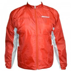 impermeable ciclismo color rojo
