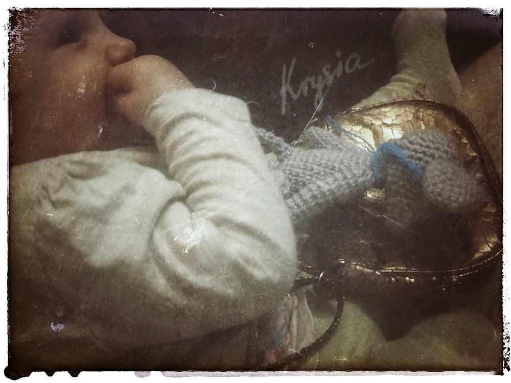 szydełkowa myszka amigurumi Krysia