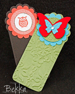 Quick Stocking Fillers - Bookmarks using the Two Tags Die