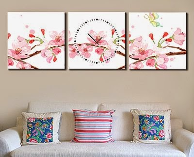 Floral Living Room Wall Decor Wall Paintings