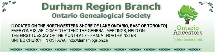 Durham Region Branch OGS