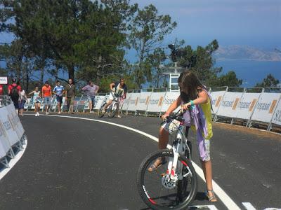 Ciclistas de todas las edades hicieron el recorrido