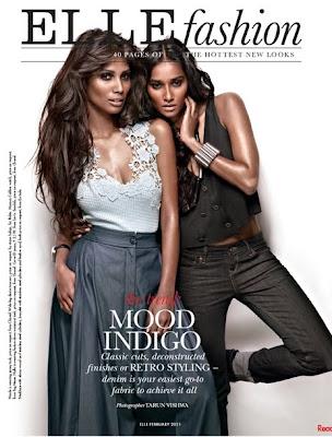 >Nidhi Sunil & Nicole Faria pour Elle India
