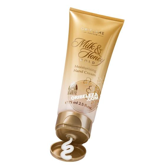 Creme de Mãos Hidratante Milk & Honey Gold da Oriflame