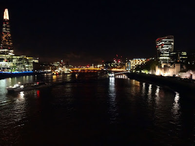 The River Thames from Tower Bridge