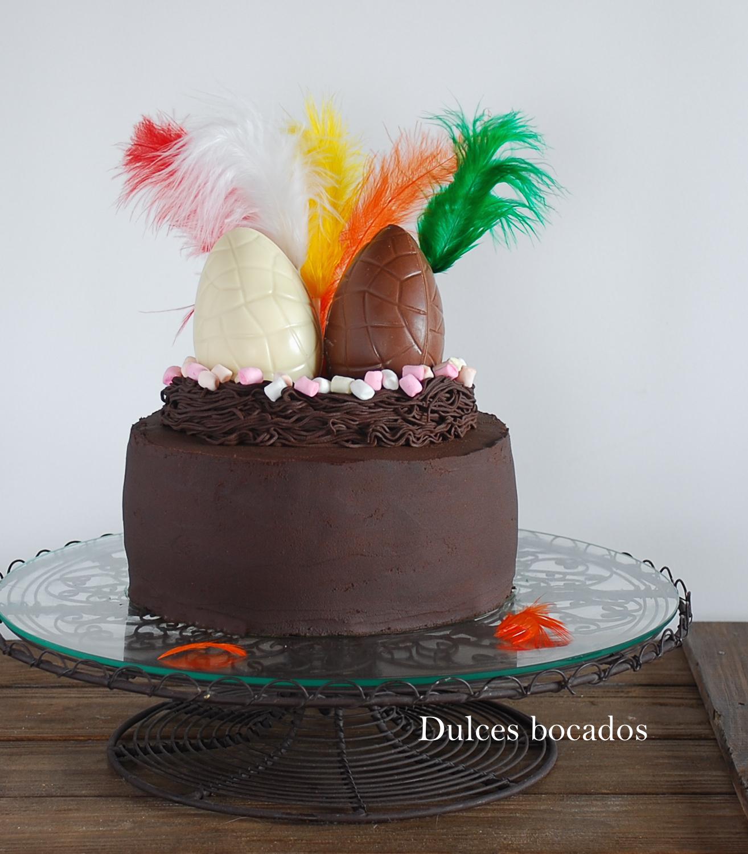 Mona Pascua de chocolate, fácil - Dulces bocados