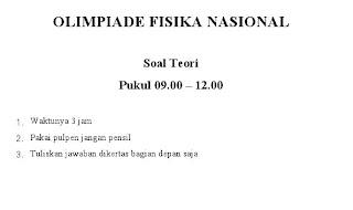 Draft Soal Olimpiade Nasional (Jakarta-Riau)
