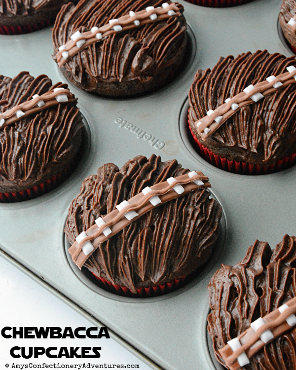Chocolate Chewbacca Www Dunmorecandykitchen Com: Amy's Confectionery Adventures: Chewbacca Cupcakes
