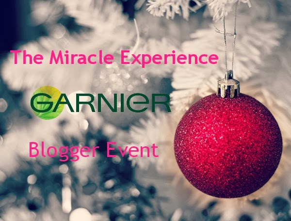 Garnier - The Miracle Experience Blogger Event
