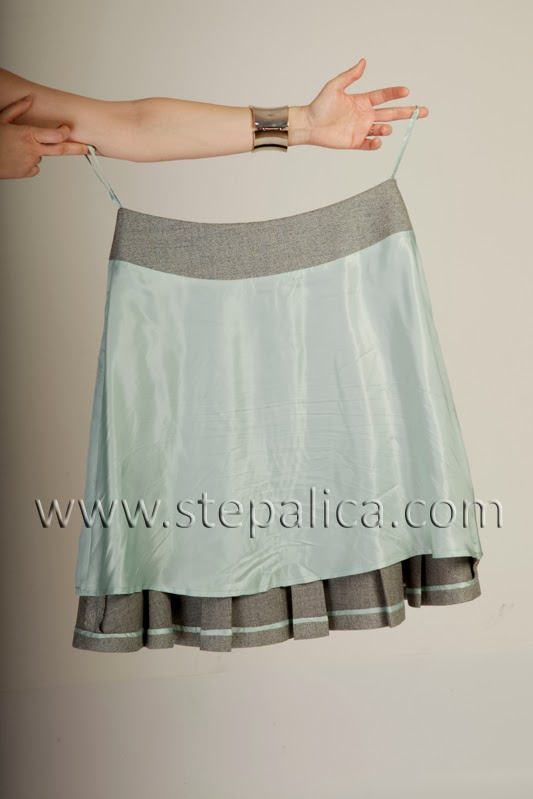 Stepalica: Zlata skirt pattern - view C