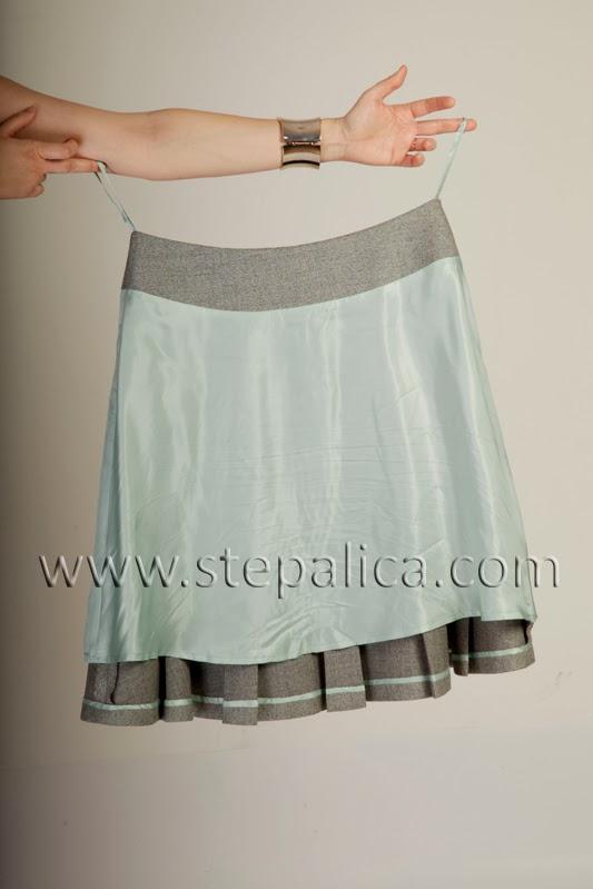 Štepalica: Zlata kroj za suknju - varijacija C