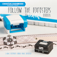 New! Footprints Border Maker Cartridge