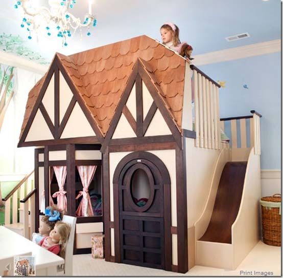 Woodland Princess Castle Bunk Bed 22605