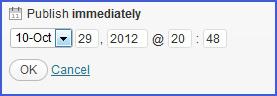 Cara setting postingan otomatis pada WordPress