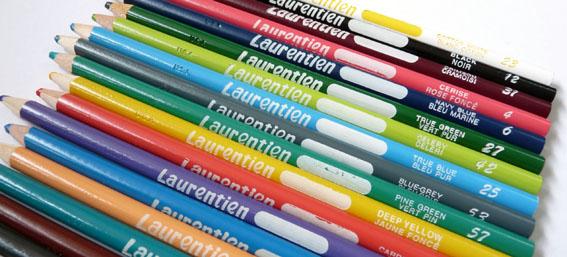 a penchant for paper laurentien coloured pencils