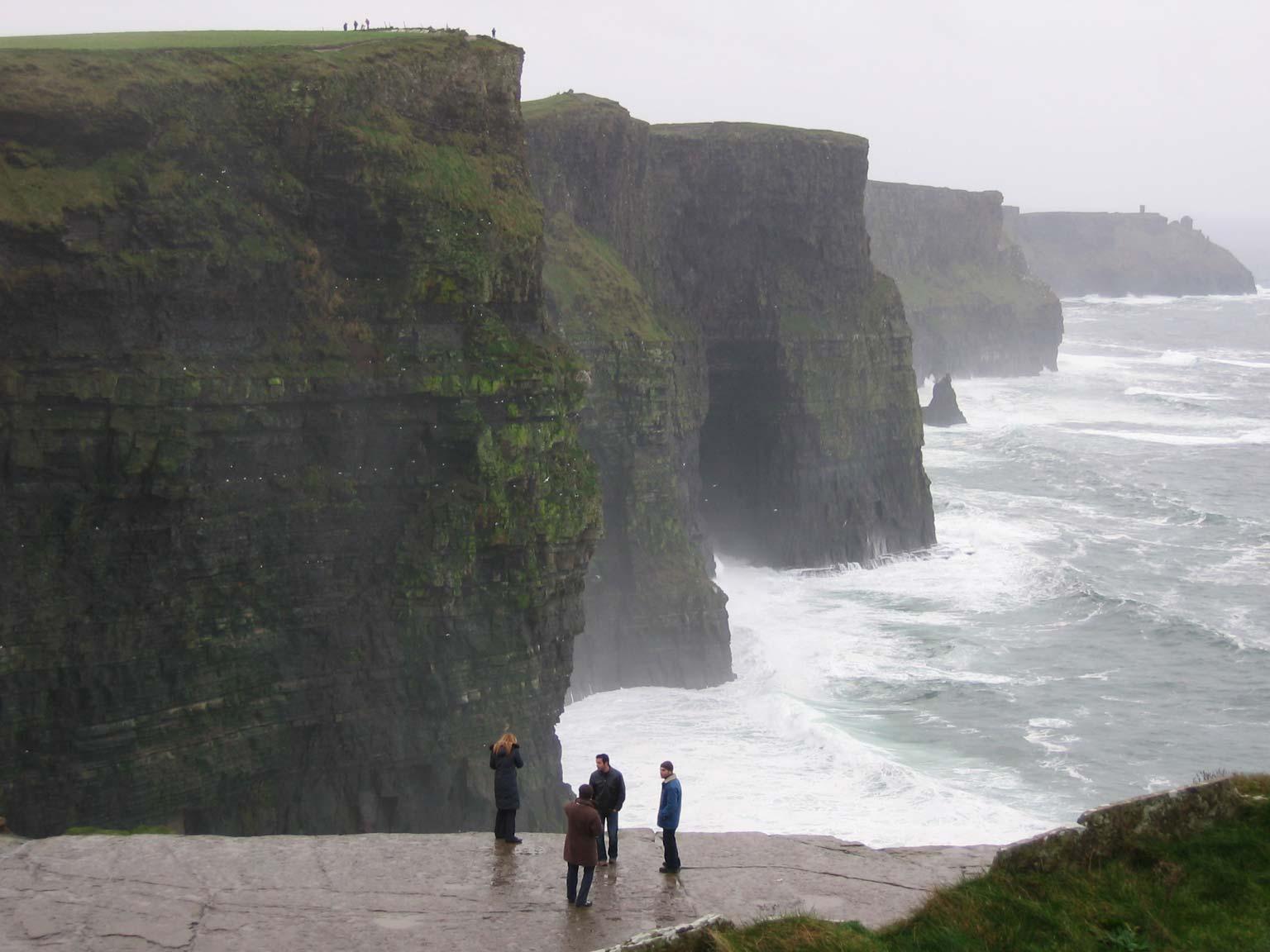 Cliffs of moher aillte an mhothair ireland great panorama picture - Cliffs of moher pictures ...