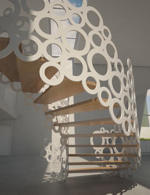 K W Organic Staircase Design