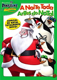 Baixar Filmes Download   Os Pinguins de Madagascar  A Noite Toda Antes do Natal (Dual Audio) Grtis