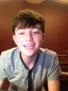Greyson Chance 2013 THanks his Fans Workd Greyson Day Twitter New Song Snippet