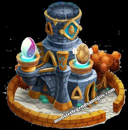 imagen de la torre nidal de monster legends