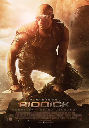 Motion cómic de Riddick