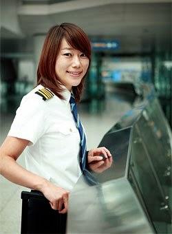 pilot cantik indonesia