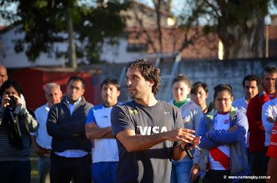 Martín Gaitán, en el CEDAR Salta