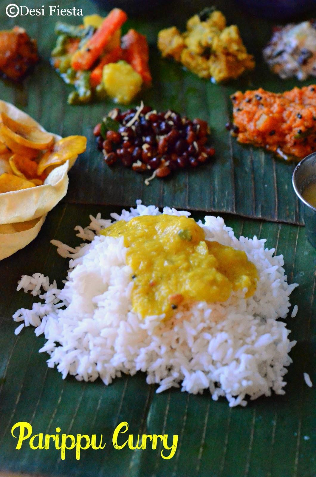 Paruppu rice  recipe