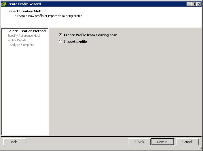 VMware Host Profiles - Detailed View -Part 1
