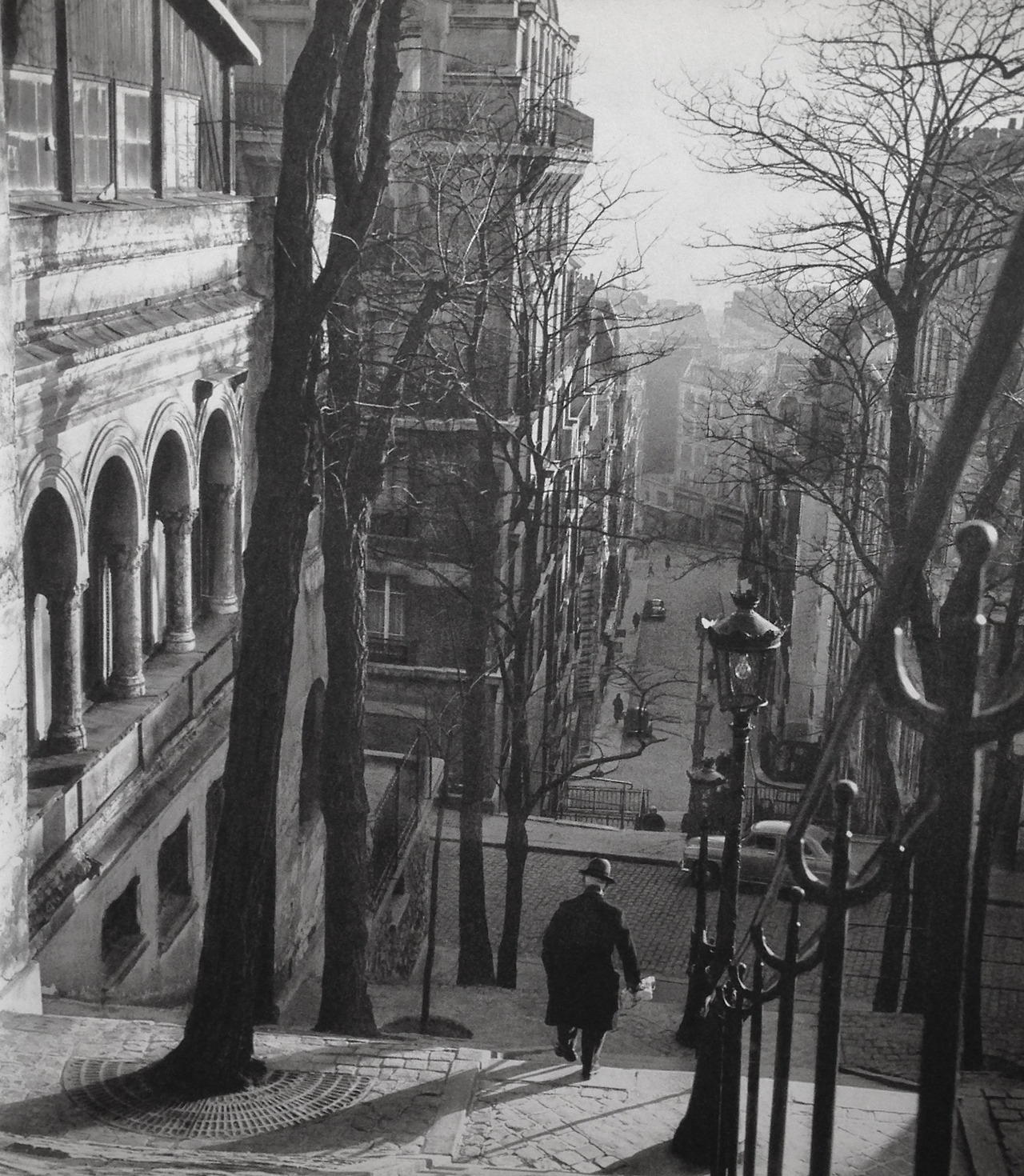 Paris in 1950s by Patrice Molinard