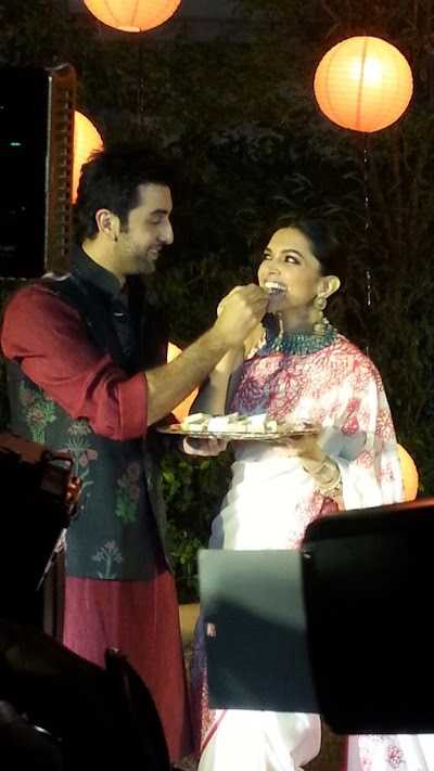 Deepika Padukone and Ranbir Kapoor Together Celebrated Diwali..!!!