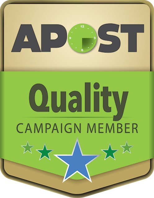 We are proud to be an APOST Quality Campaign Member!