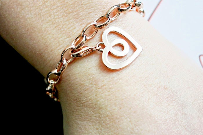 'Love forever'-Thomas Sabo Armband in rosegold