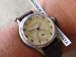 JAEGER LE COULTRE SUB SECON - MANUAL WINDING
