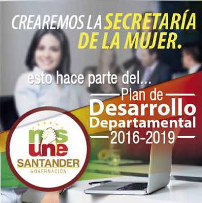 """APROBADO PLAN DE DESARROLLO 2016-2019  """"SANTANDER NOS UNE"""""""