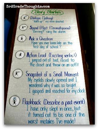 3rd grade story starters